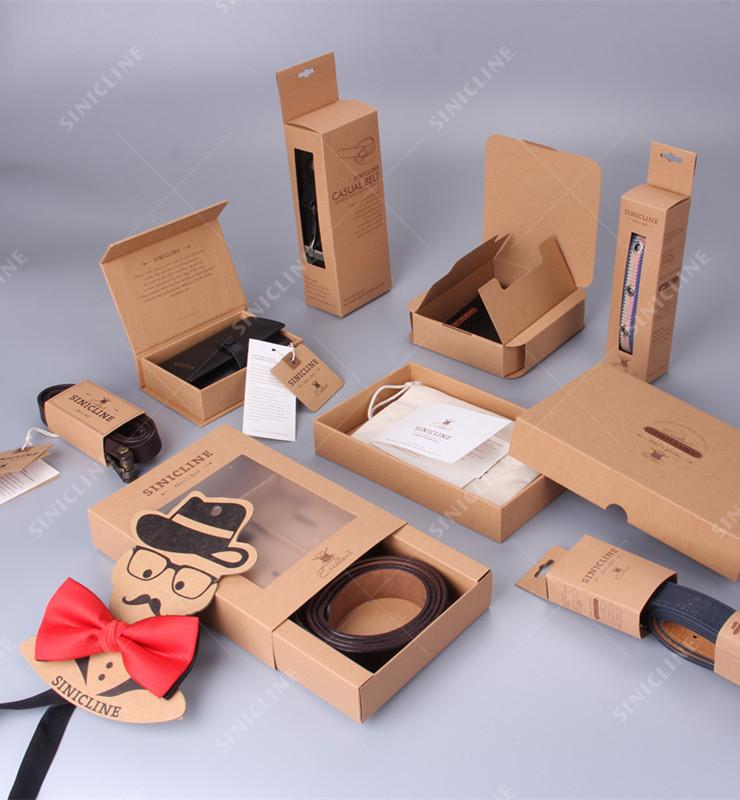 Kraft Paper Packaging Series for Accessories
