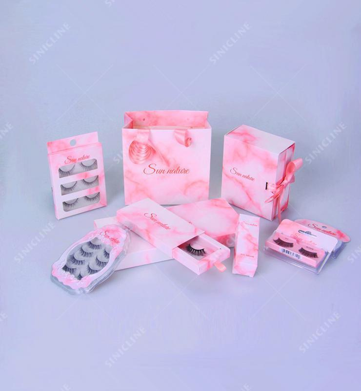 Sun Nature Customized Paper Packaging Box for Cosmetic Tool eyelash
