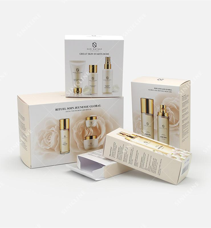 High End Skin Care Products Packaging Solution