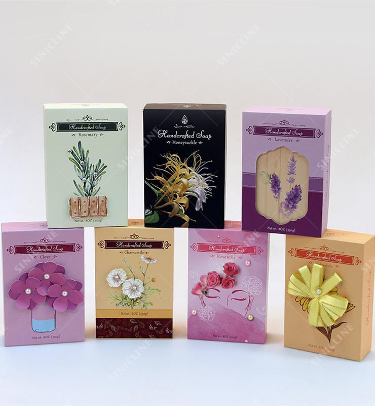Handmade Soaps Packaging Boxes
