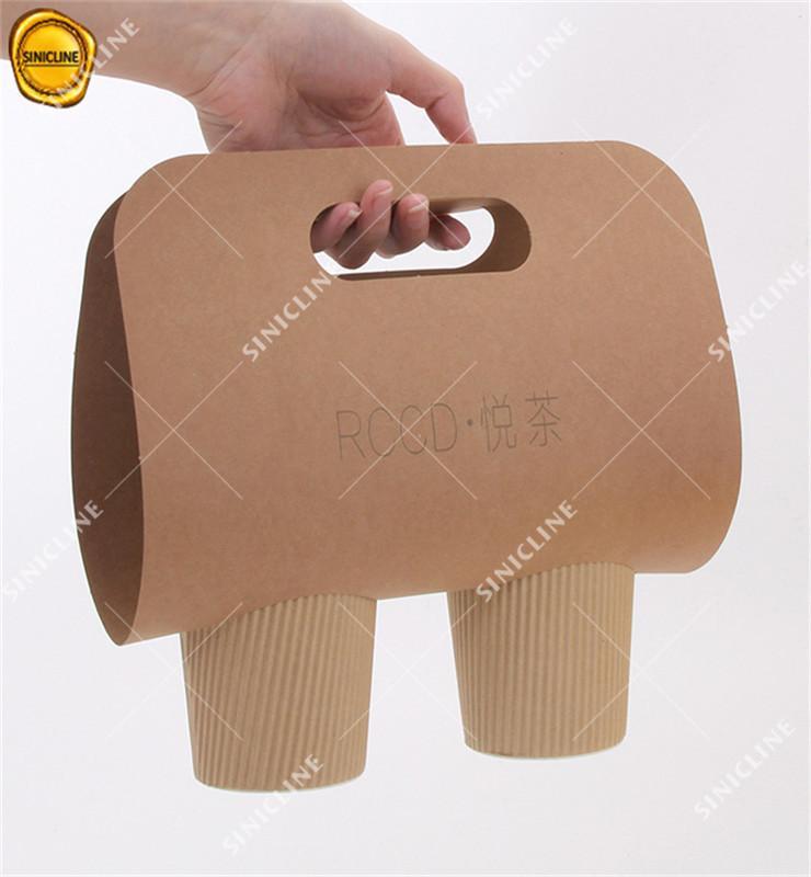 Eco Kraft Paper Coffee Cups and Holders