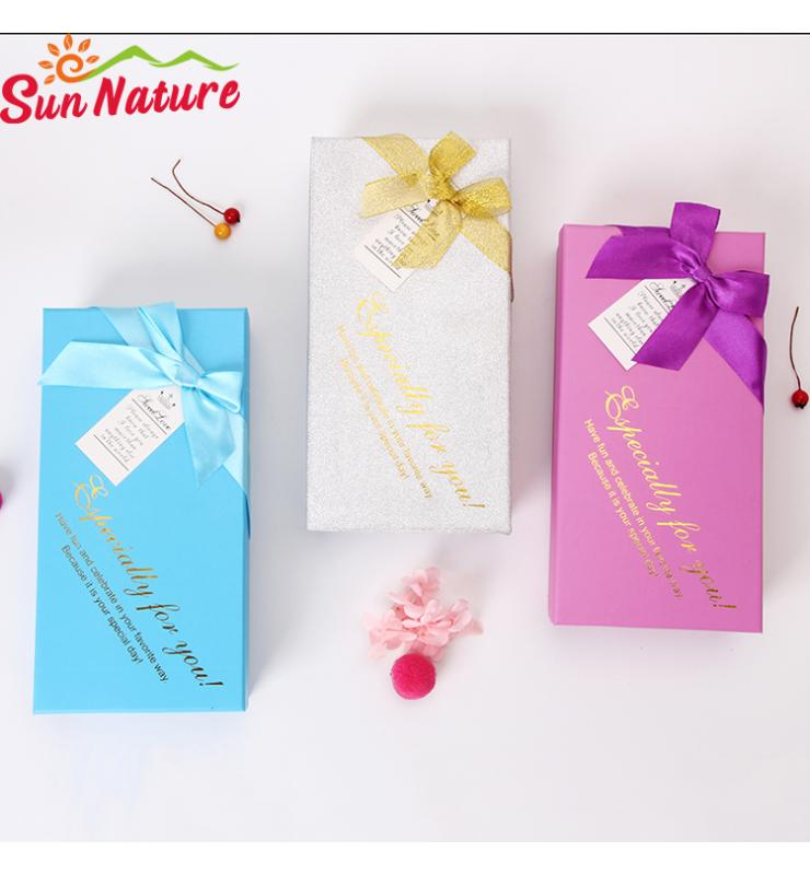 Candy Rigid Boxes with Bow Tie