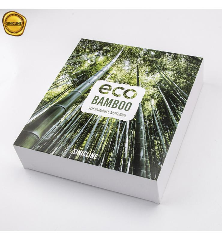 Sustainable Bamboo Fiber Paper Box