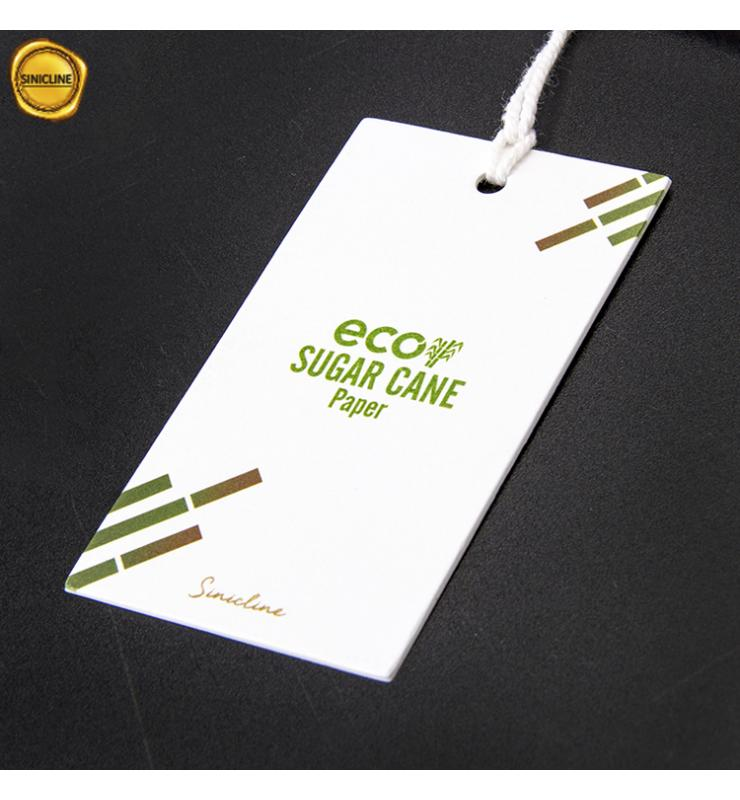 Eco Sugar Cane Paper Hang Tag