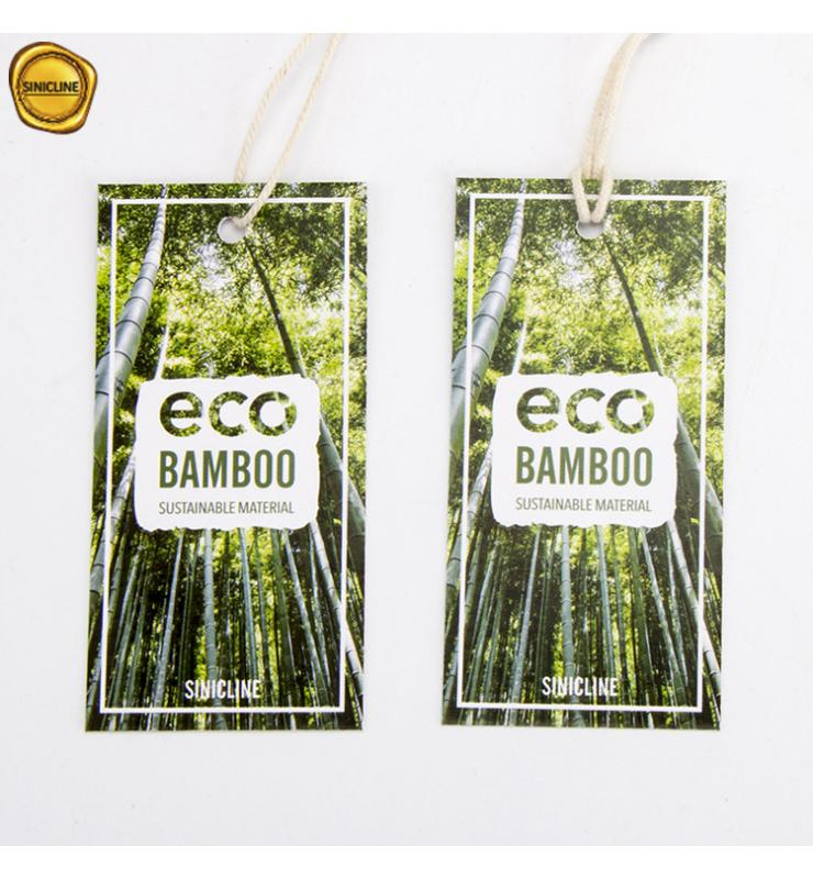 Bamboo Paper Hang Tags
