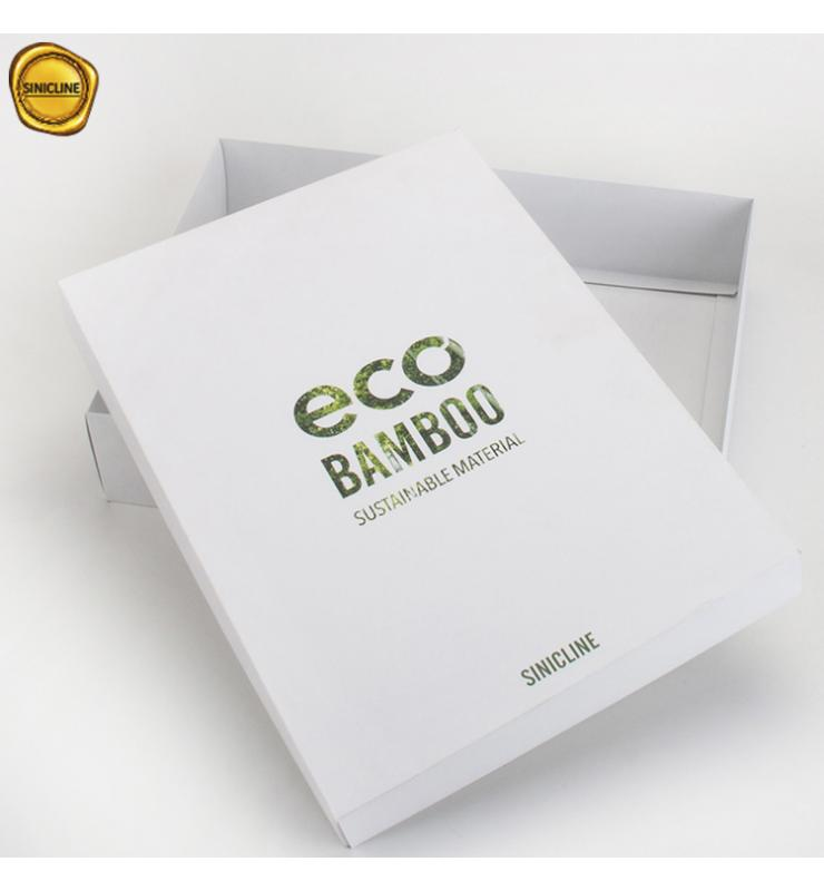 Eco Bamboo Paper Lid and Tray Box
