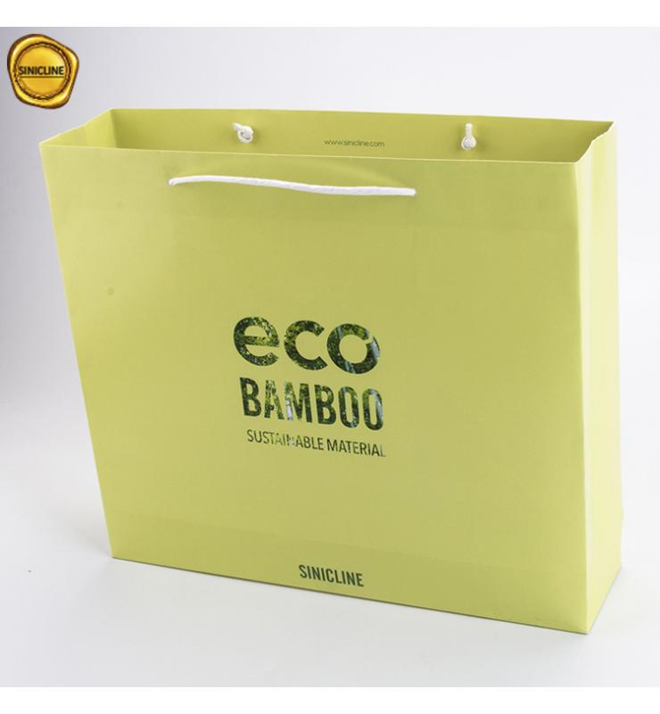 Eco Bamboo Paper Shopping Bag
