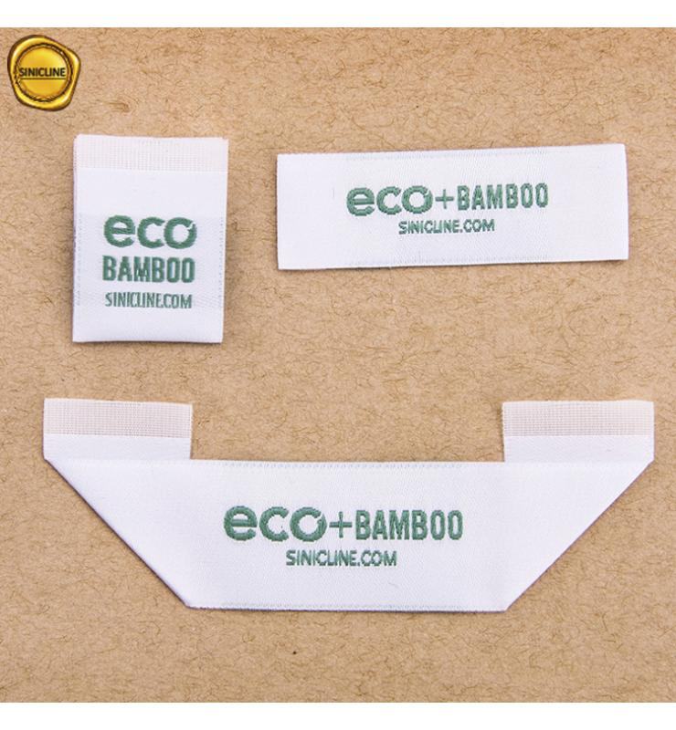 Sustainable RPET Woven Labels