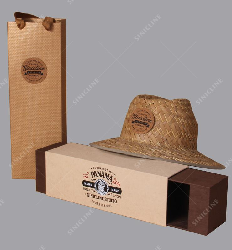 hat box and bag